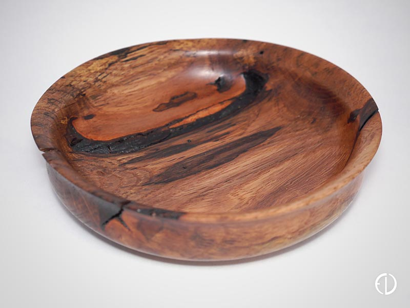 Hand turned Wild Cherry Bowl
